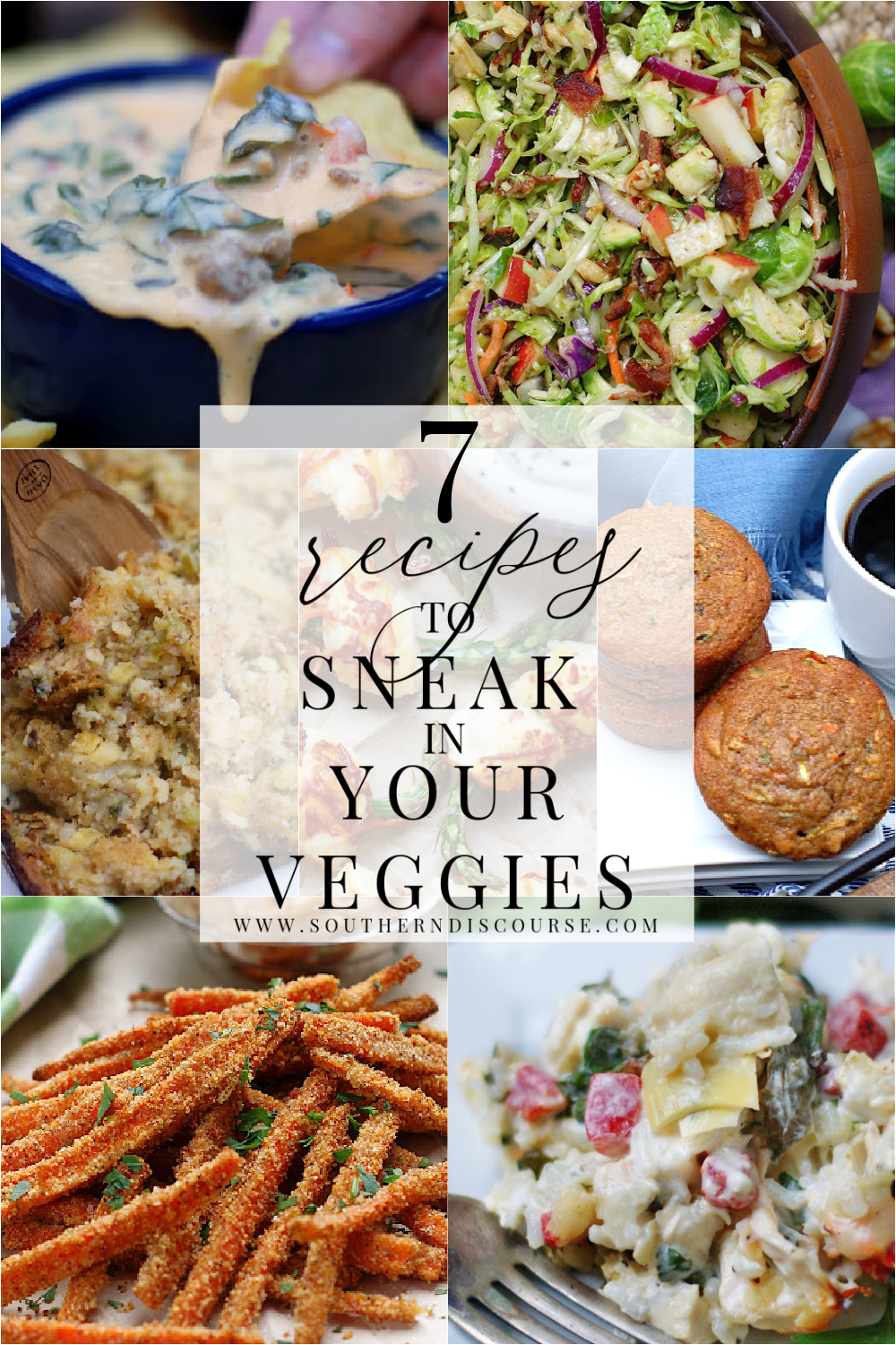 From dips to appetizers, snacks, side dishes, even comfort meals, this week's Saturday Seven showcases wonderful ways to incorporate more veggies into your menu, ways that even the pickiest eaters will love!