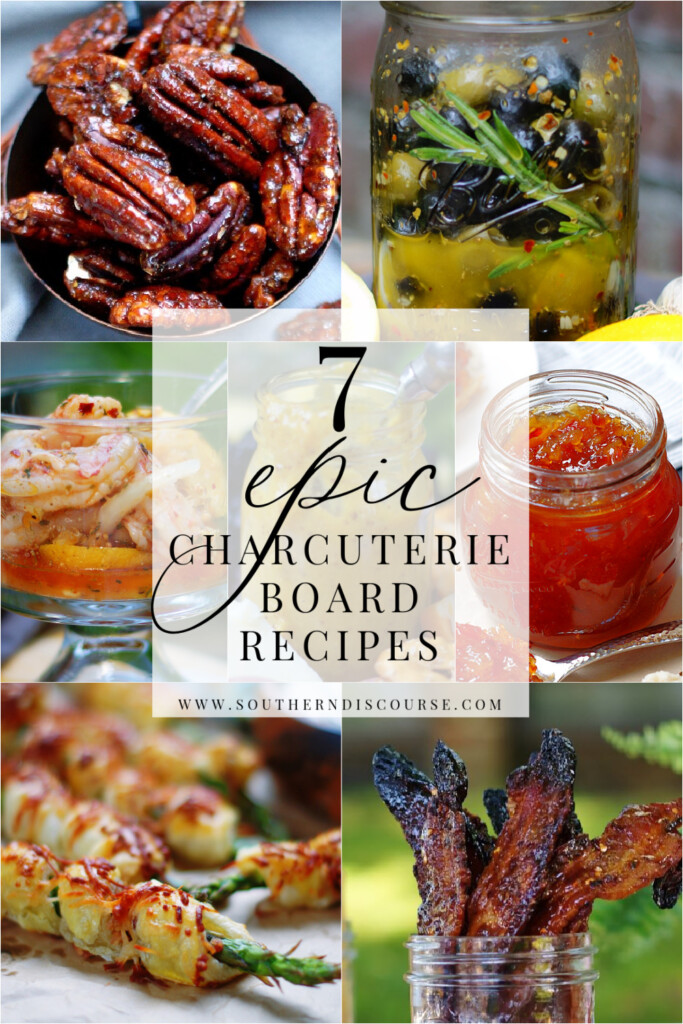 7 unexpected recipes to create epic charcuterie boards for parties, dinners and everyday get-togethers.