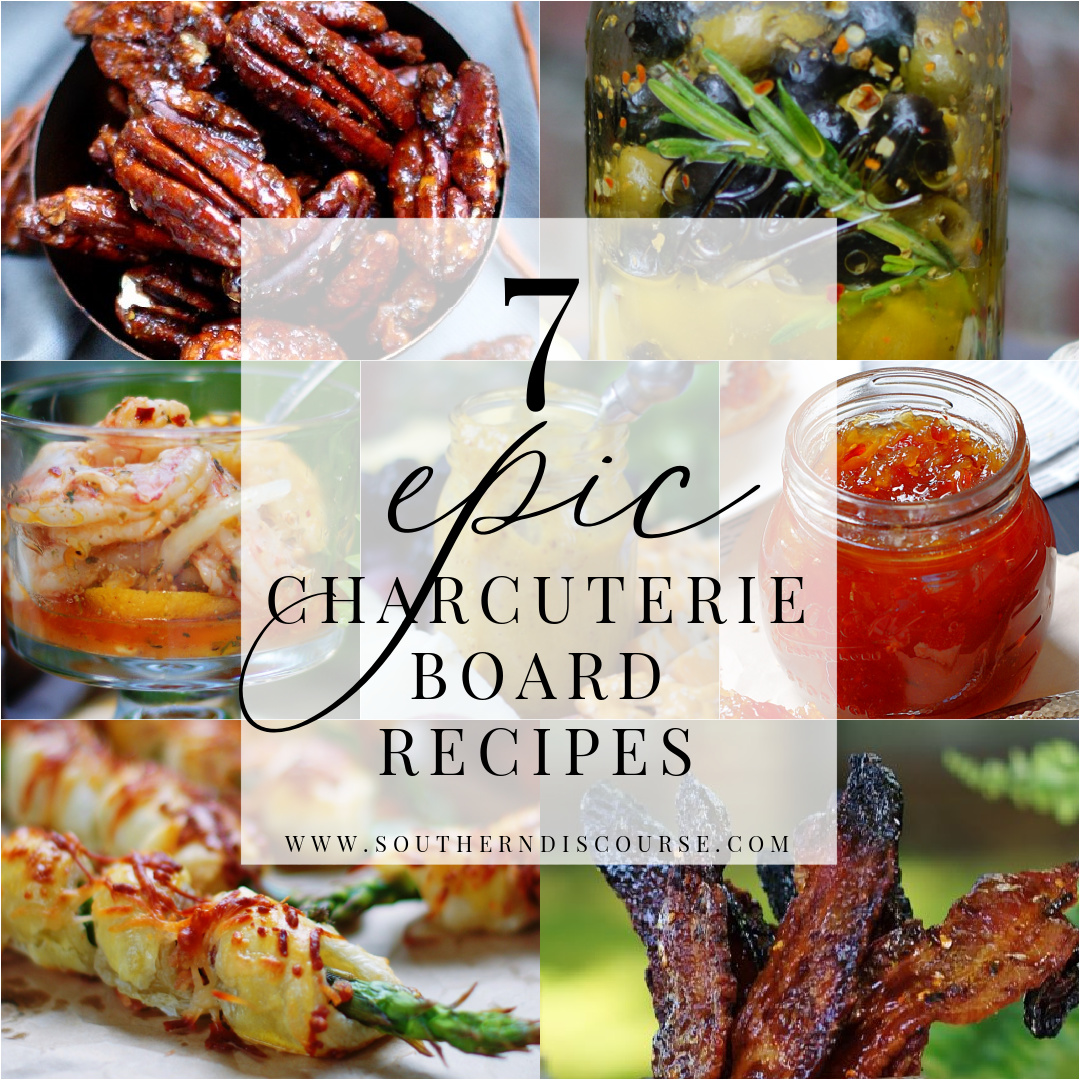7 epic recipes to liven up your charcuterie boards title collage